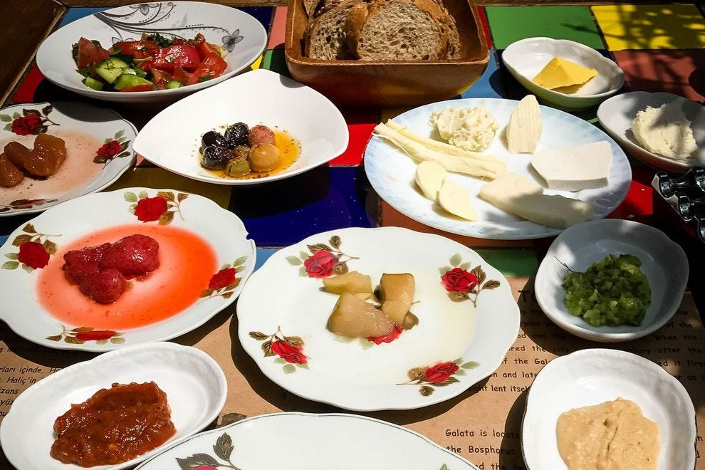 10 of the best places to eat Turkish breakfast in Istanbul