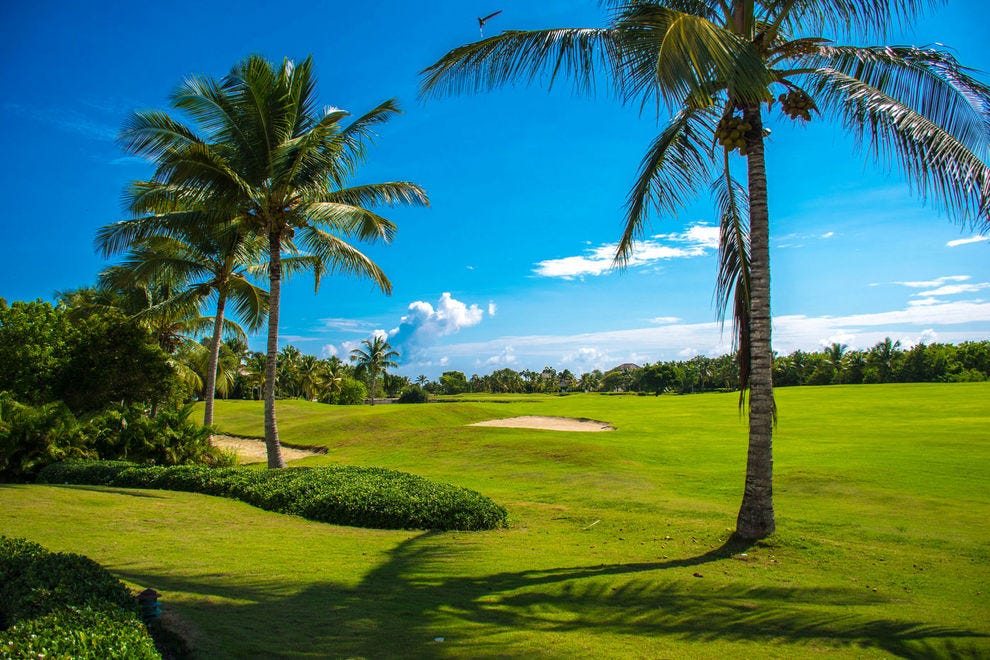 Where would you most want to tee off?