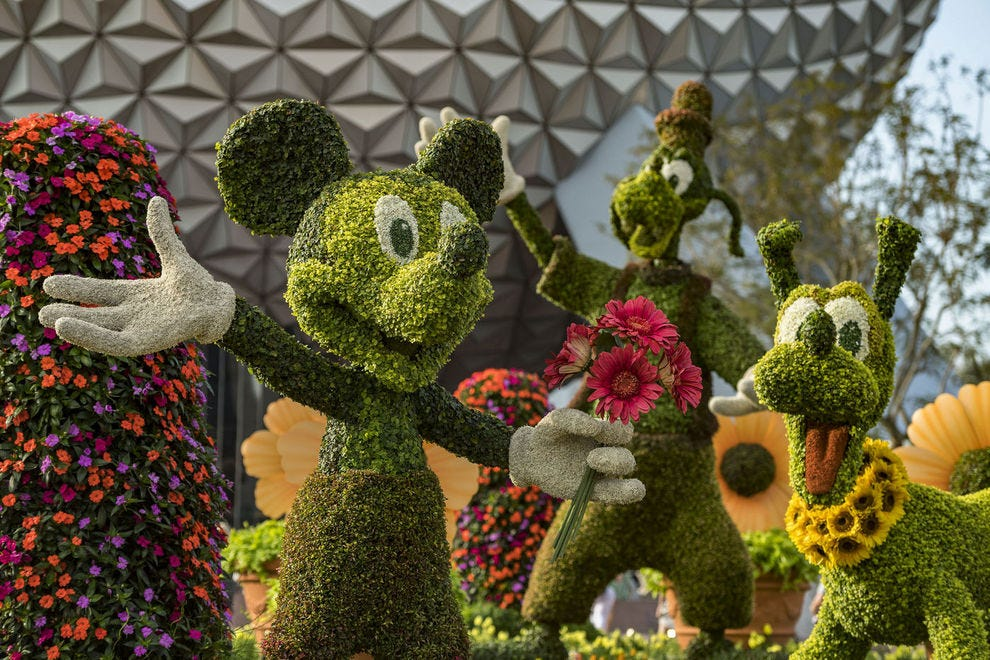 A team of dedicated horticulturists create and prune each one-of-a-kind topiary