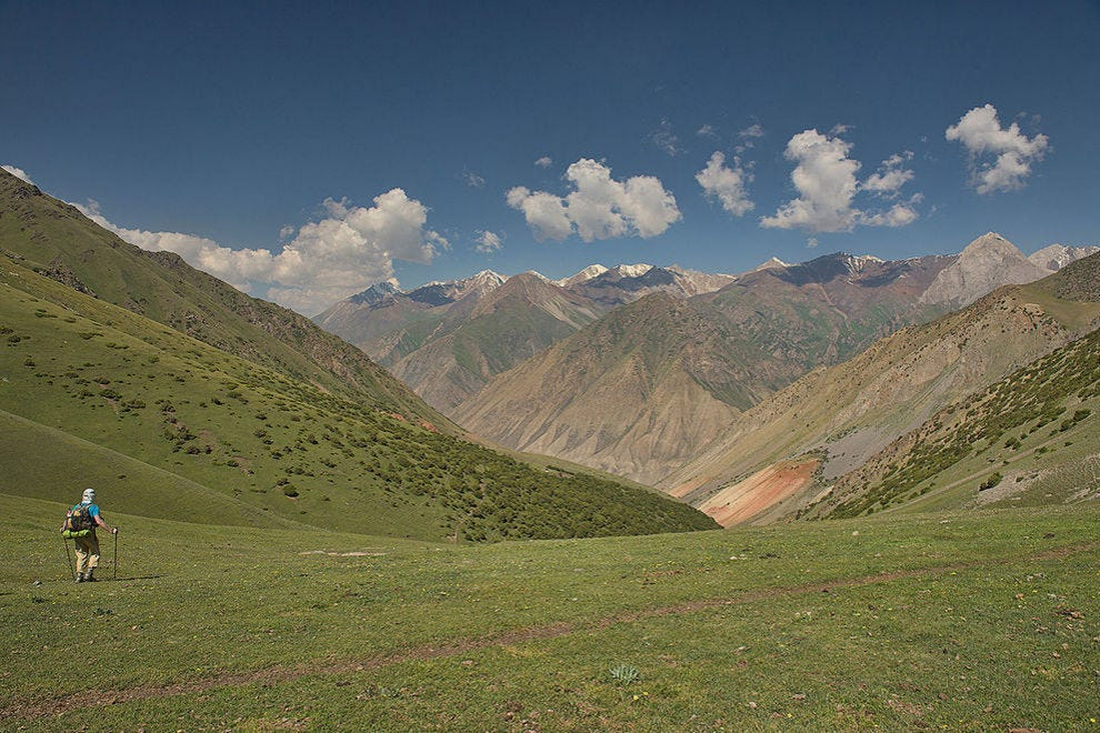 Open spaces are a Kyrgyz norm