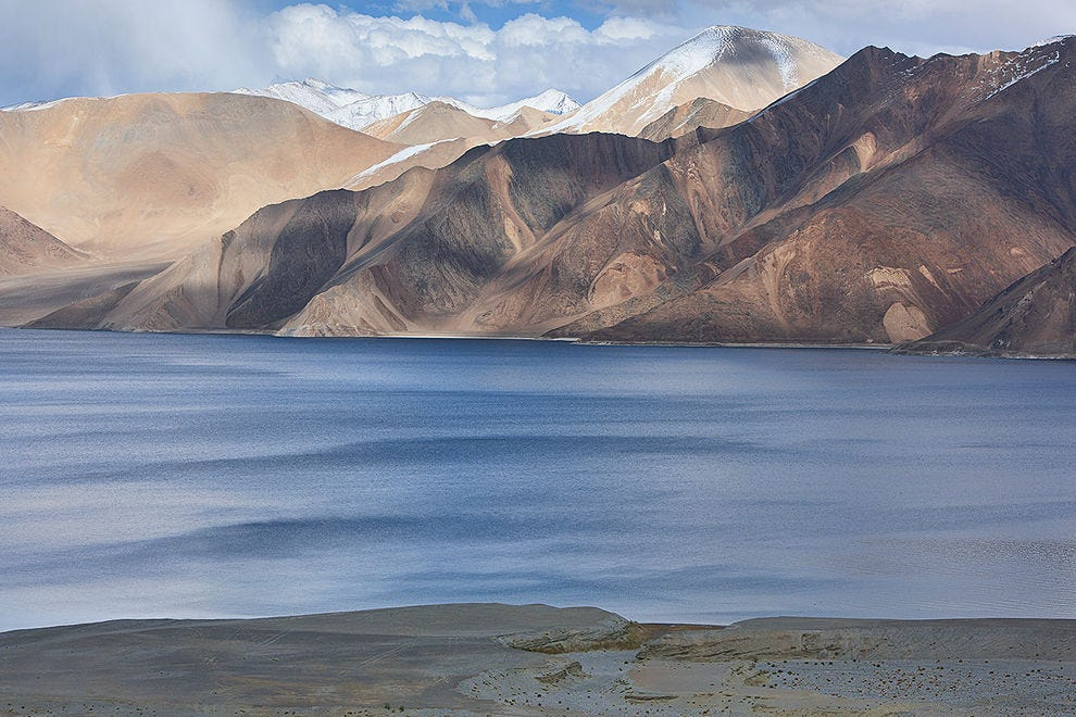 Beautiful Pangong Lake, the jewel of Ladakh