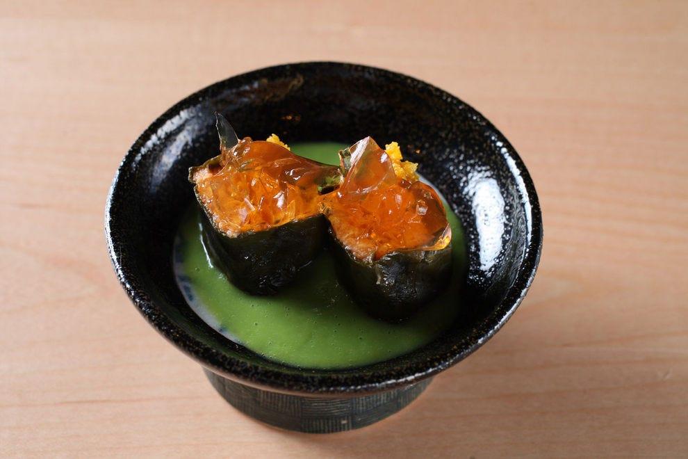 Lau Lau Sushi Sho style was inspired by the Hawaiian pork dish