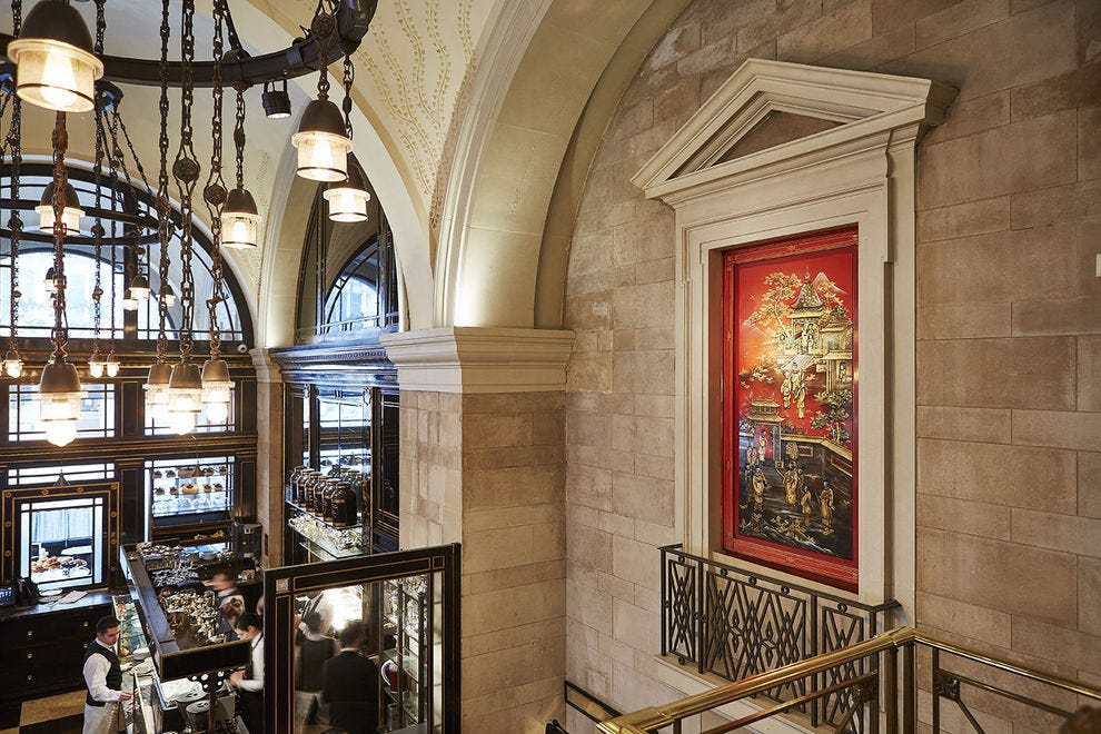 You must take afternoon tea at The Wolseley