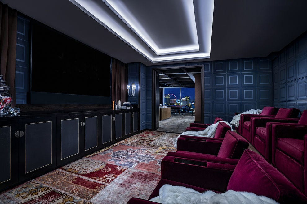 Cinema Suite at Palms Casino Resort