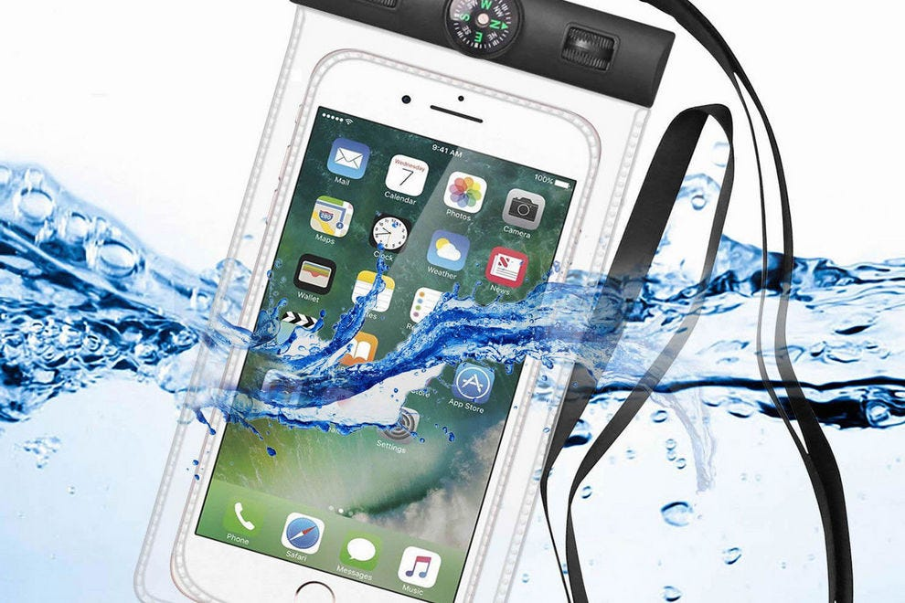 Keep your smartphone safe in the water