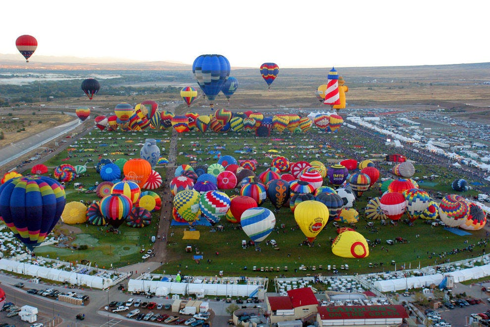 Vote Albuquerque International Balloon Fiesta Best