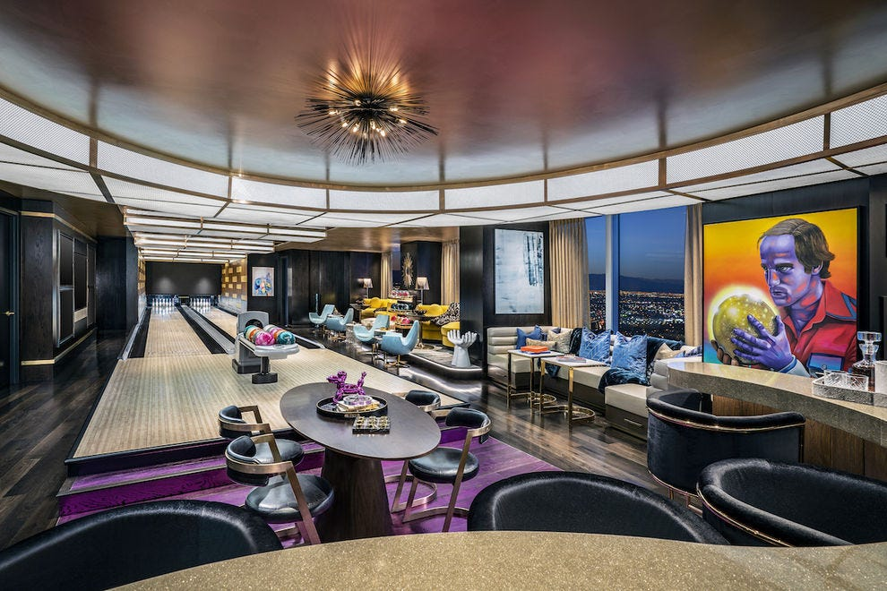Kingpin Suite at Palms Casino Resort