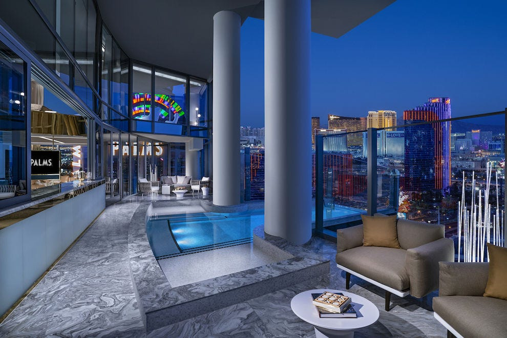 Two-Story Sky Villa at Palms Casino Resort