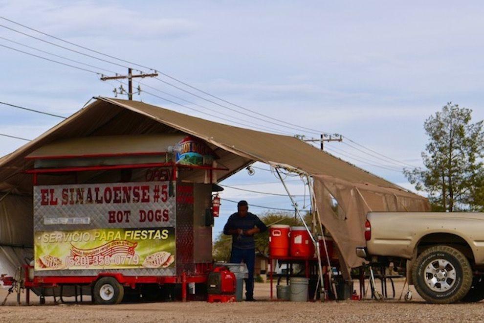"El Sinaloense, a classic Tucson ""carreta"""