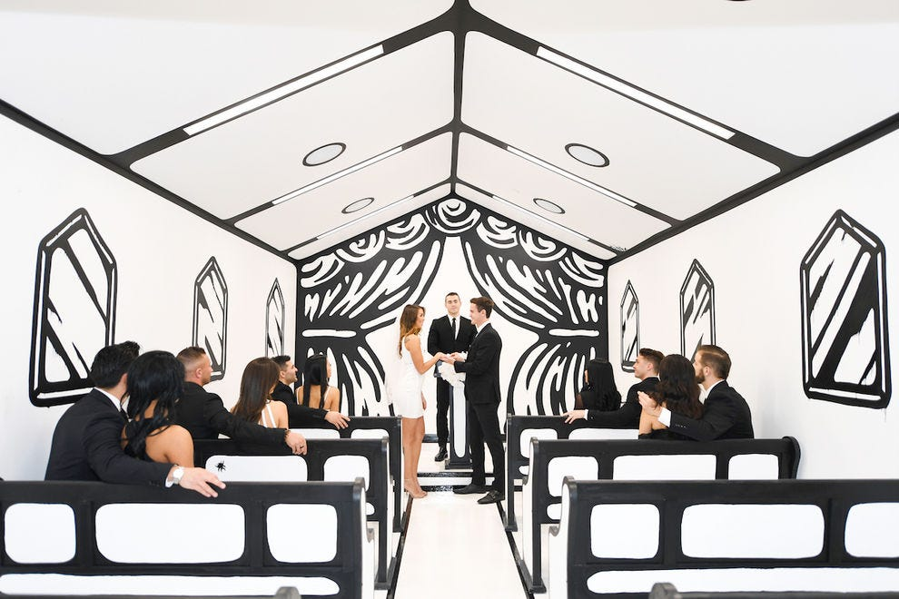 "The ""Til Death Do Us Part"" wedding chapel at Palms Casino Resort"