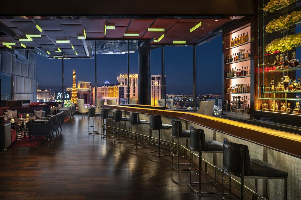 Skybar at Waldorf Astoria Las Vegas