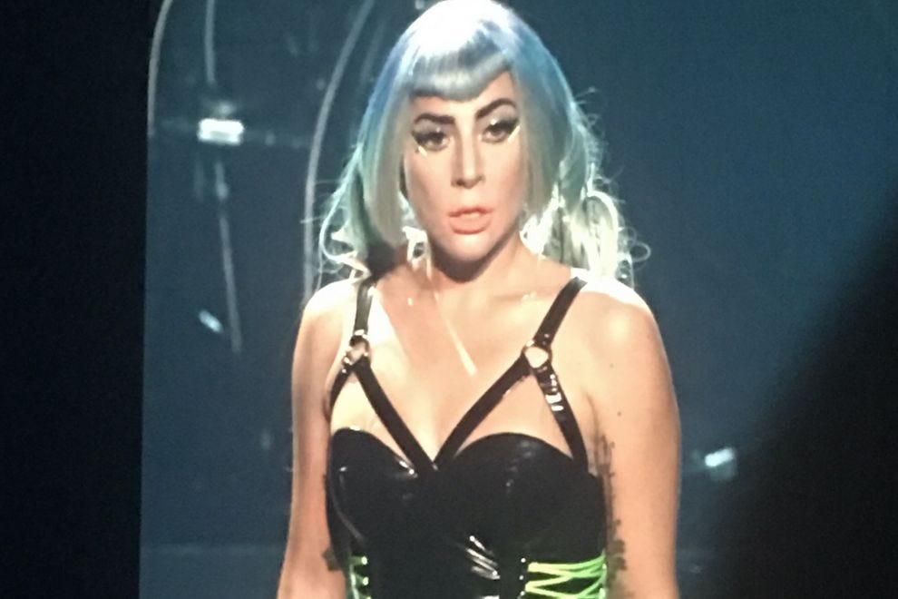 "Lady Gaga in ""Enigma"""