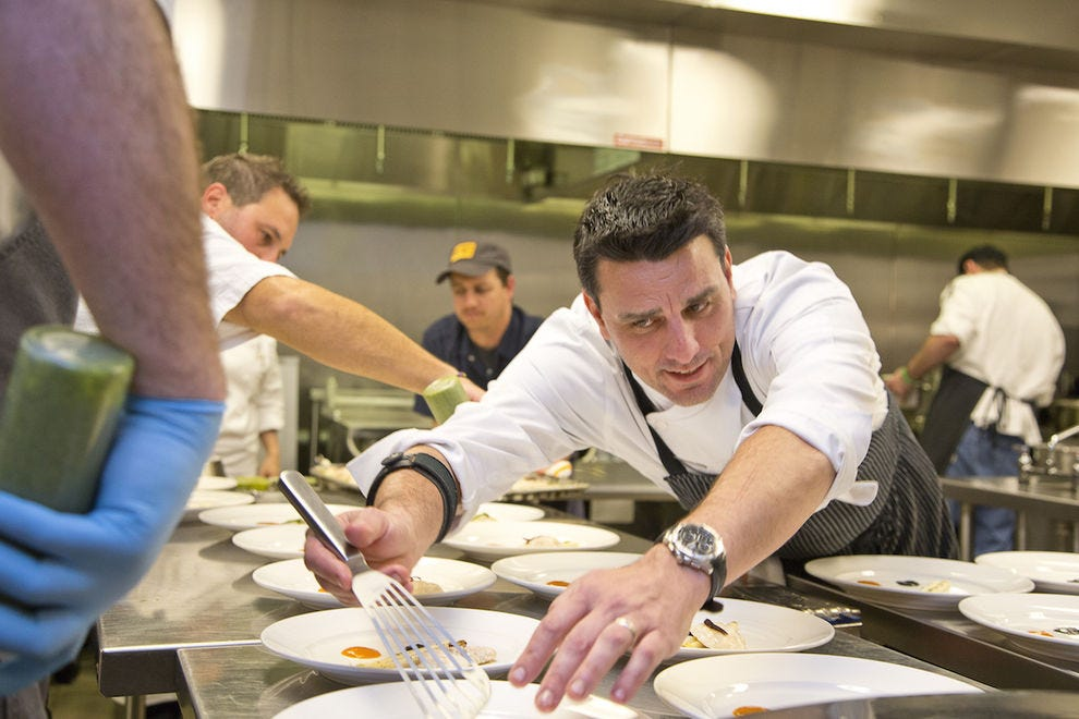Chef Brian McGlamery of Luma on Park
