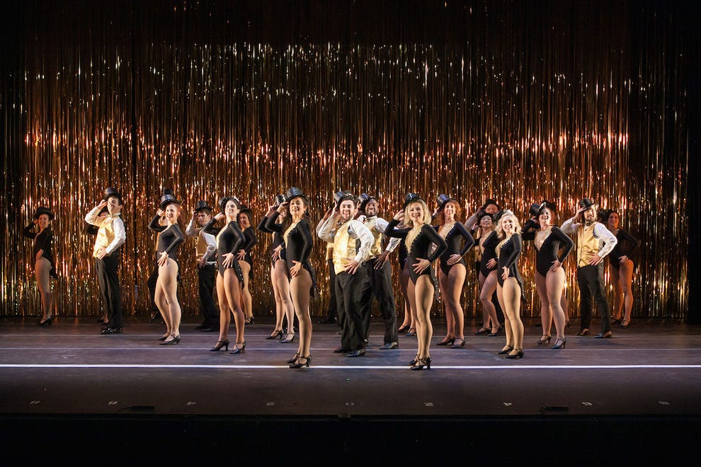 """A Chorus Line"" at Peoria Performing Arts Center"