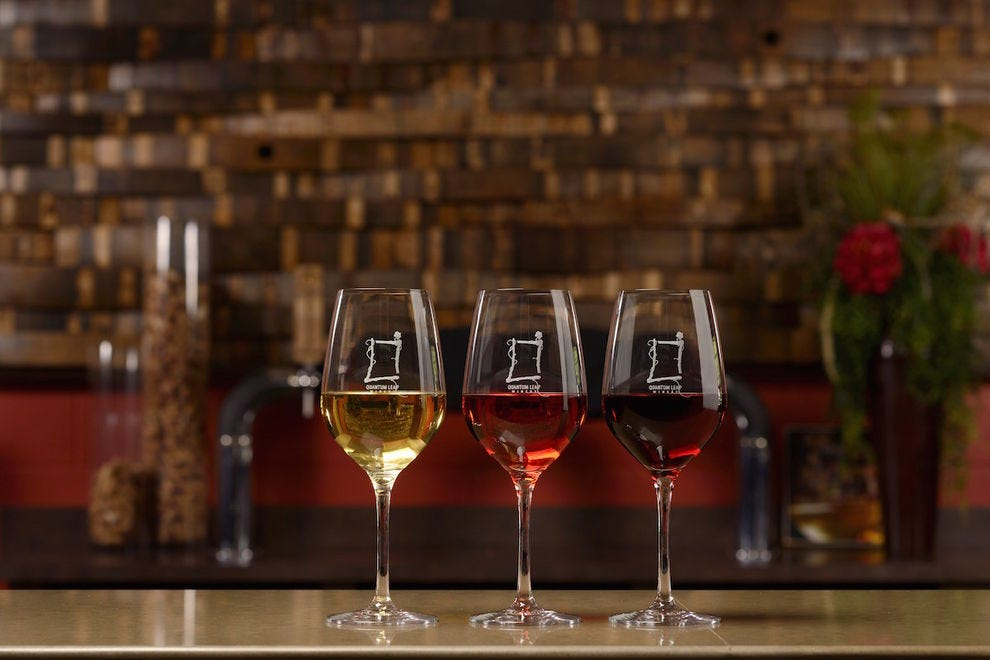 Enjoy a tasting at Quantum Leap Winery