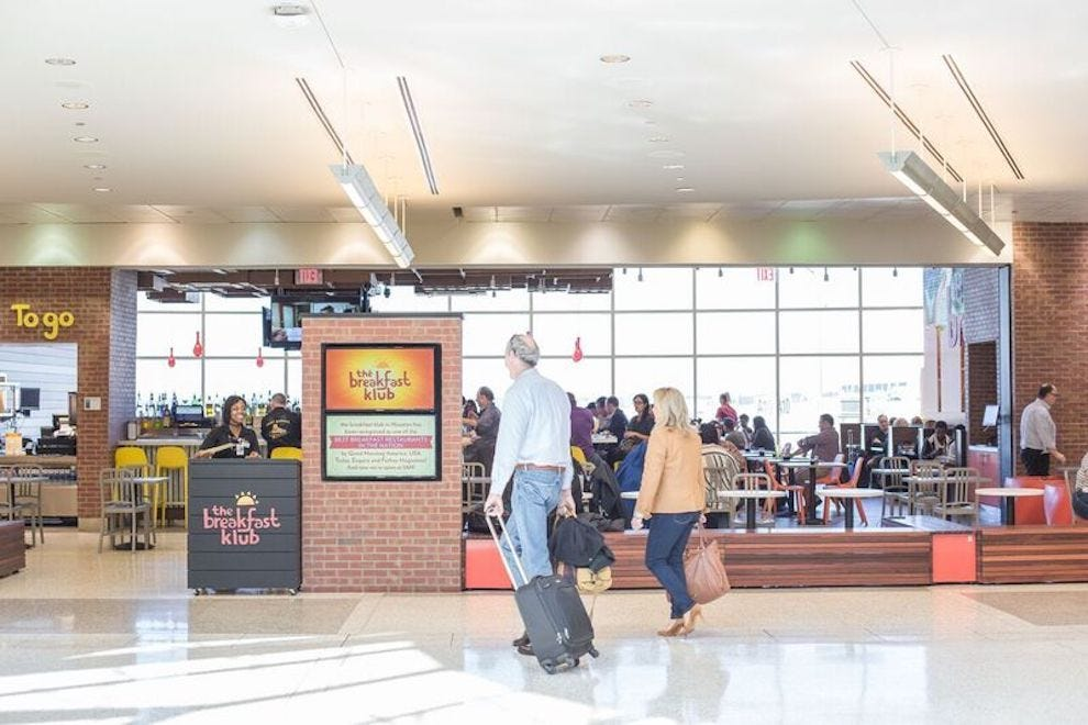 A Houston Midtown favorite comes to IAH