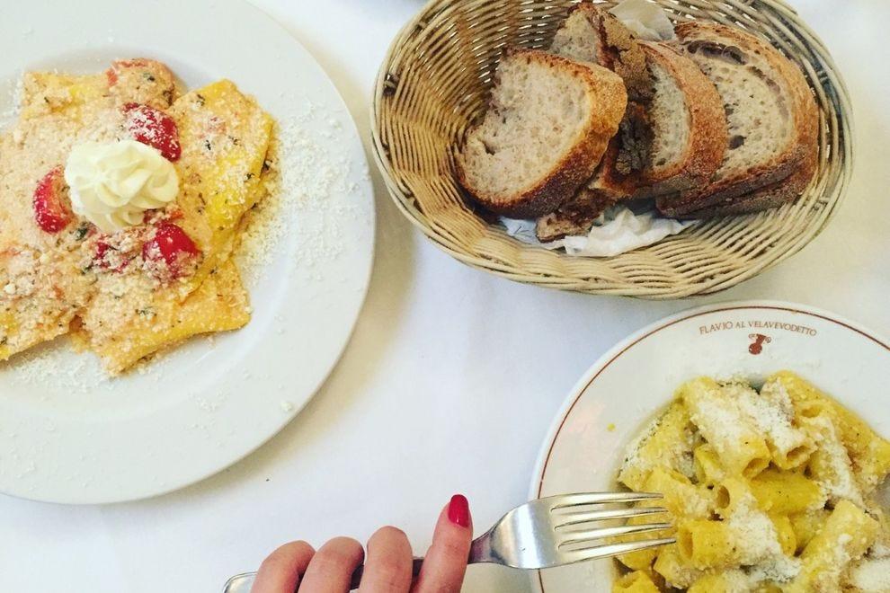Roman cuisine at Flavio al Velavevodetto