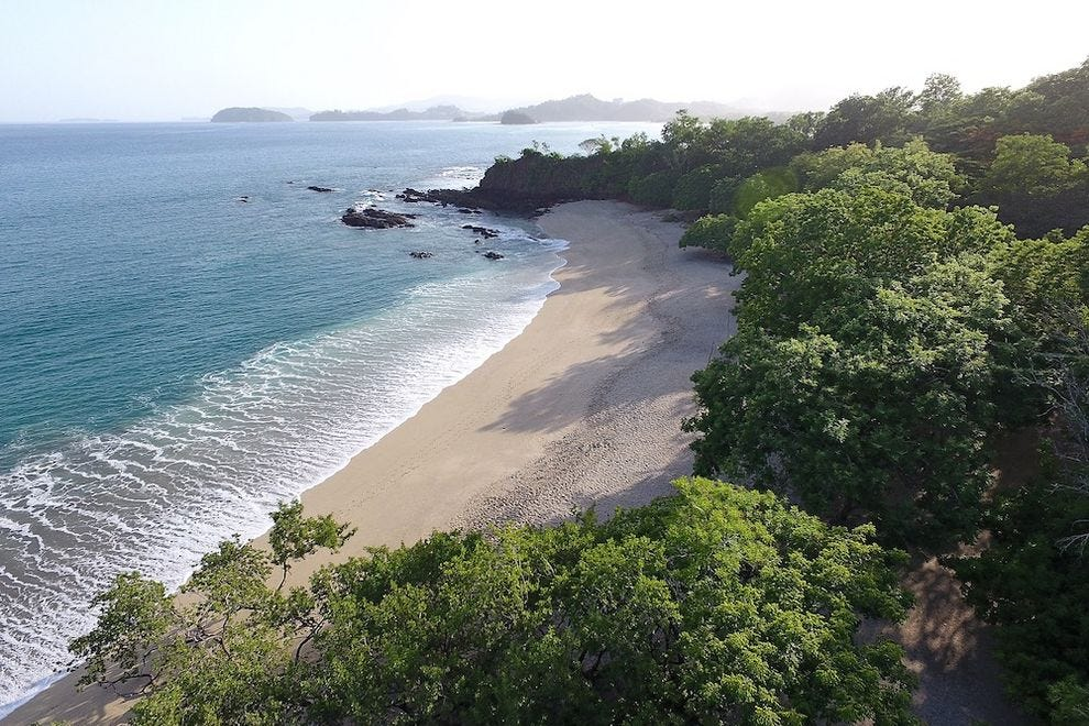 Conchal Beach on Costa Rica's northwest coast