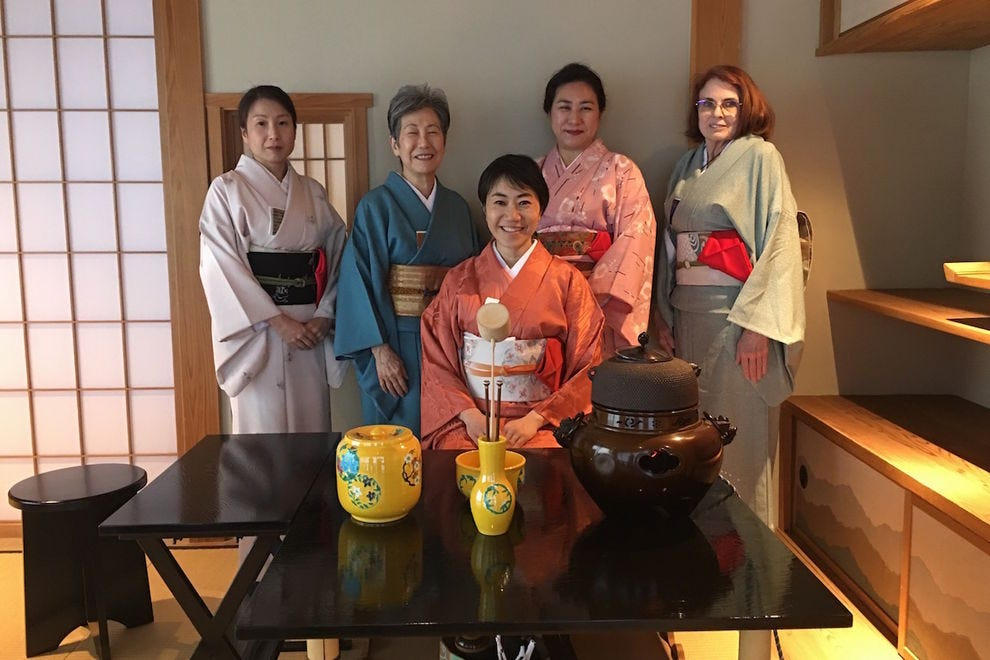 The tea ceremony at the Japanese Friendship Garden is a moving experience