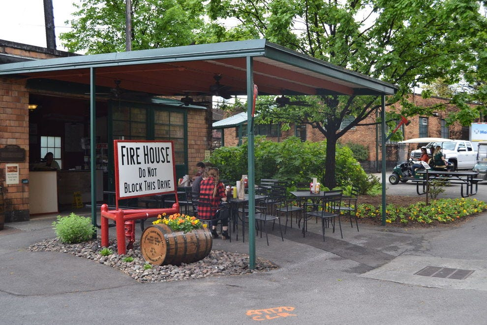 Firehouse Sandwich Stop at Buffalo Trace Distillery