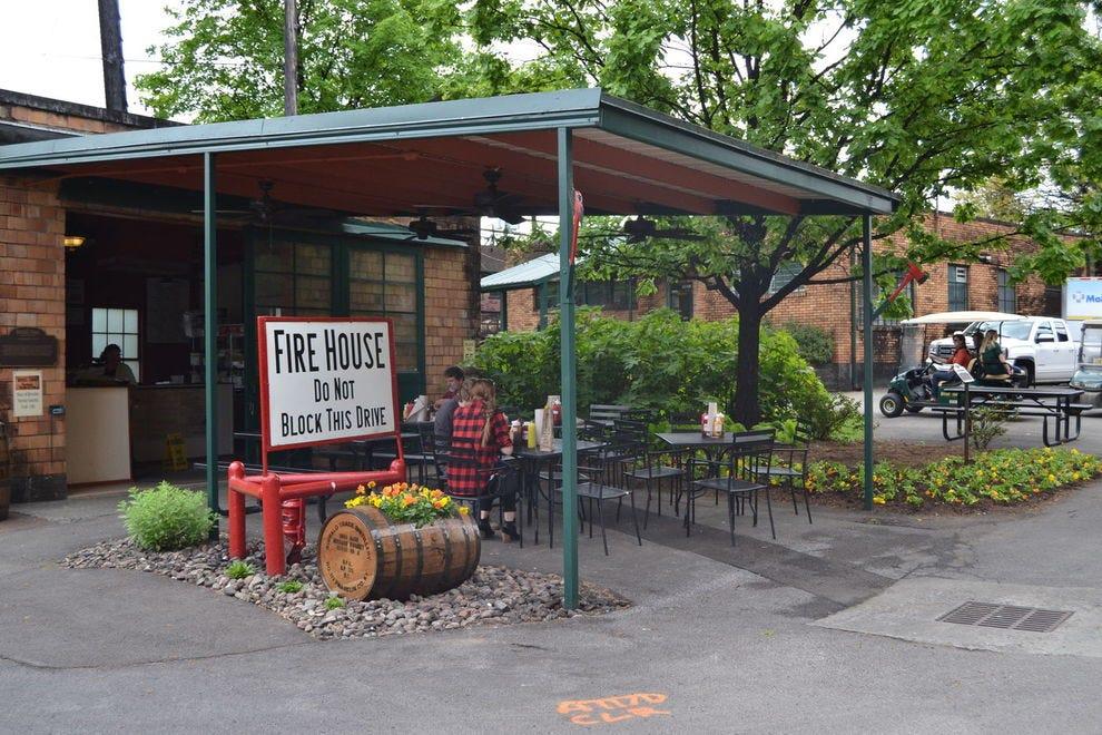 Firehouse Sandwich Stop at Buffalo Trace Distillery