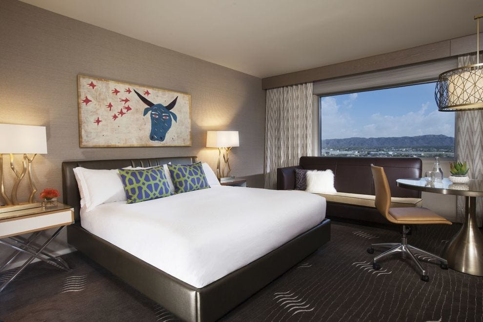 Palomar's views provide great inspiration – like this one from a King Skyline Room