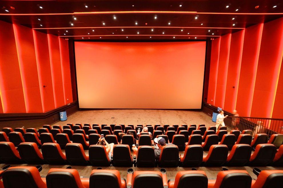 <em>Carnival Vista</em>'s spacious IMAX Theatre
