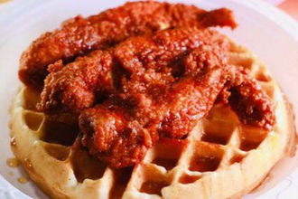 24 Hot Chicken and Waffle Bar