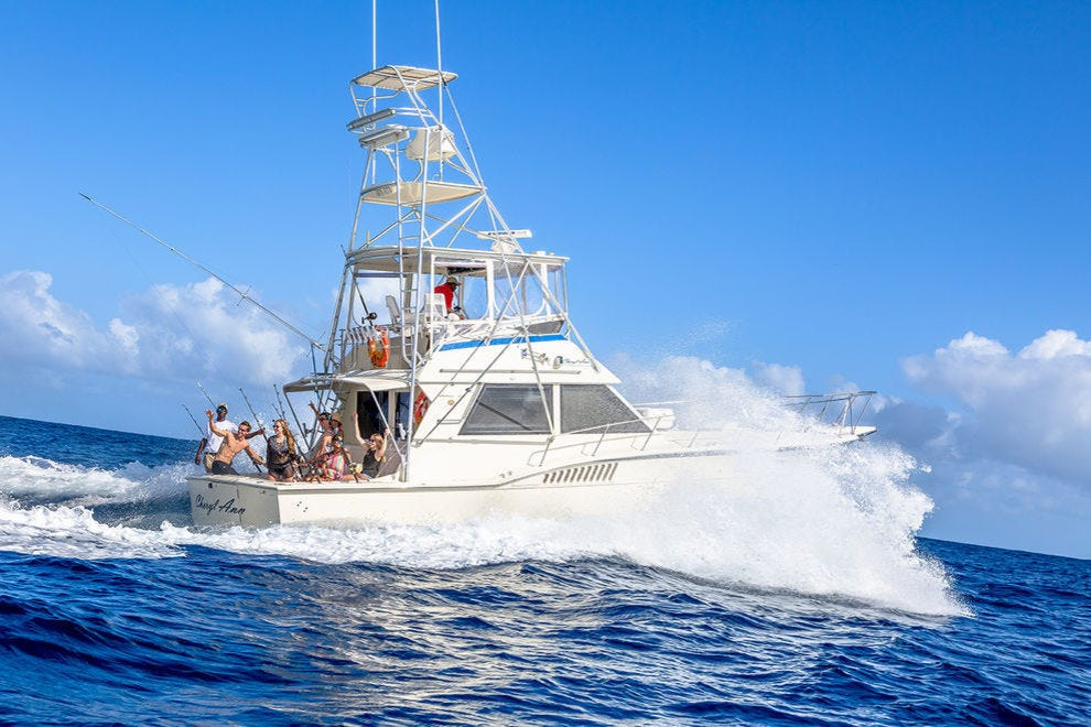Reel in a big one with deep sea sport fishing