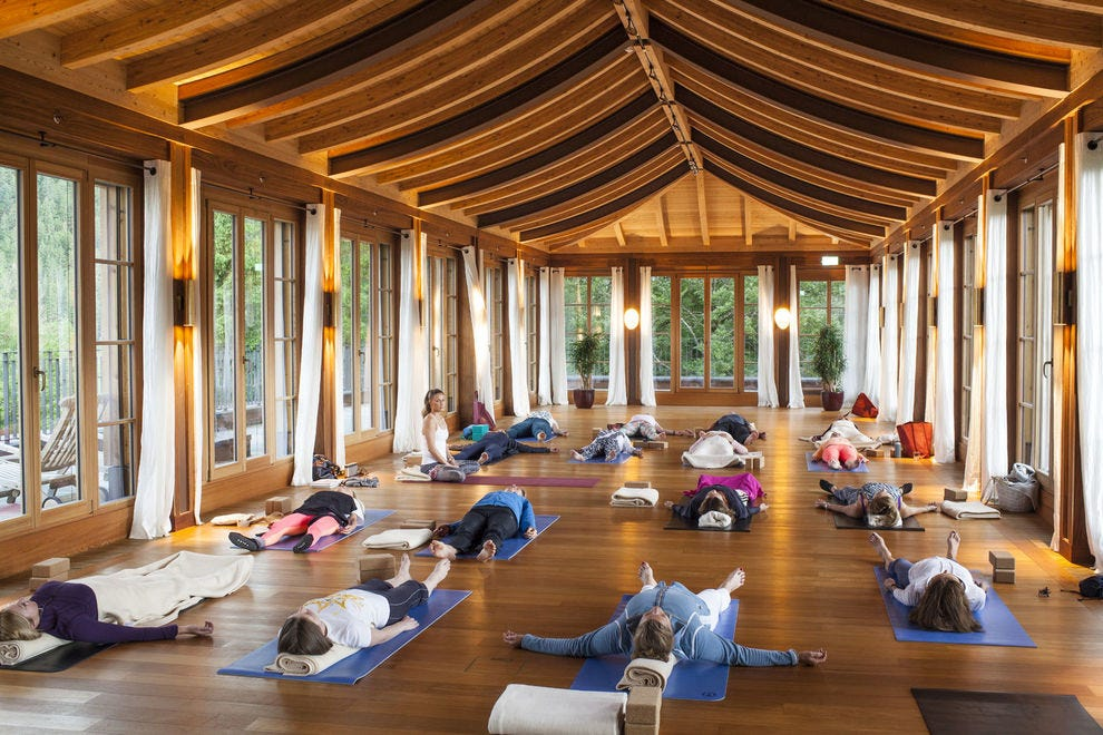 Schloss Elmau Jivamukti Yoga Center