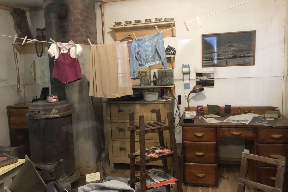See how prisoners lived at the Heart Mountain Interpretive Center