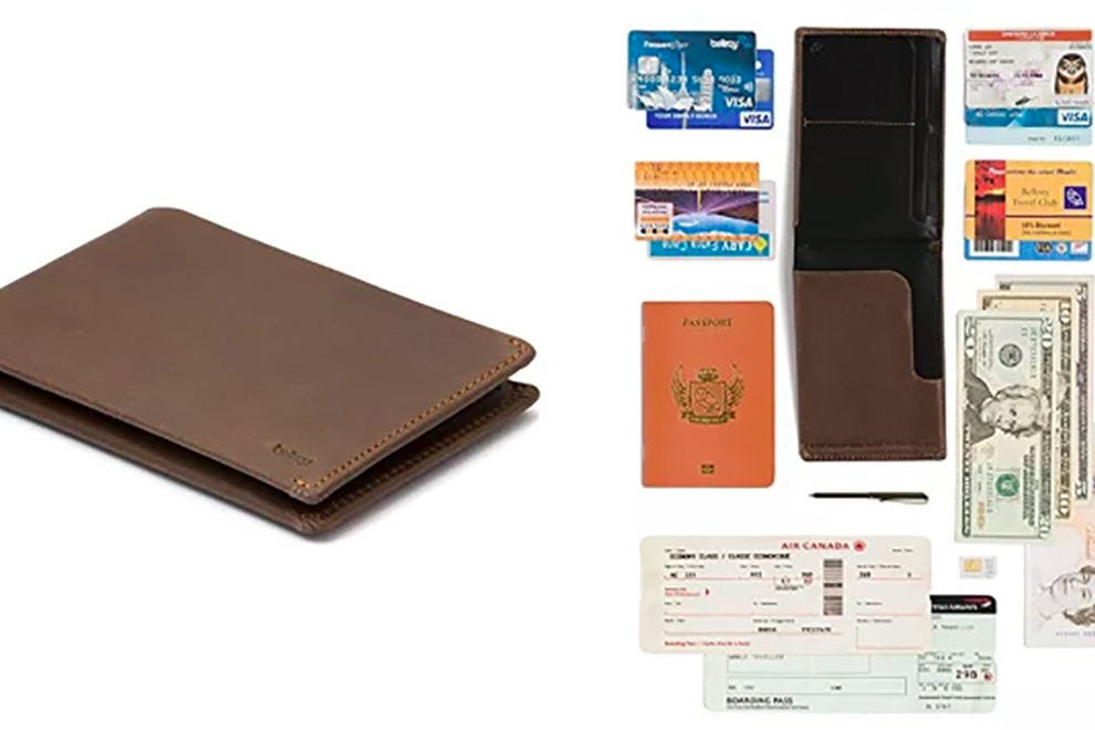 Bellroy's travel wallet prevents RFID skimming