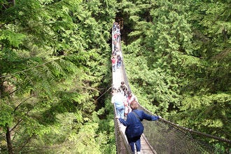 Lynn Canyon Park and Suspension Bridge