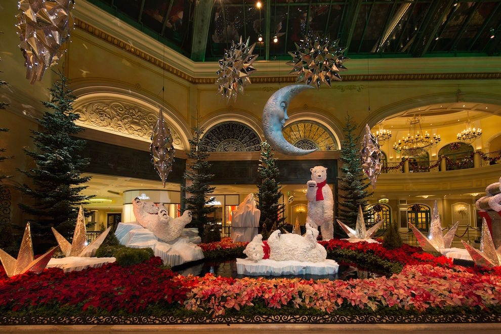 The holiday displays are personal favorites of Jerry Bowlen