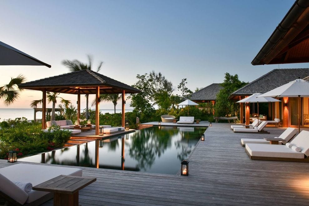 COMO Parrot Cay is a private island resort frequented by A-listers