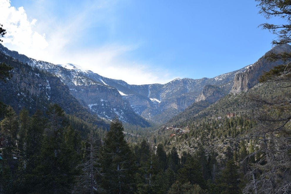 Kyle Canyon and Mt. Charleston