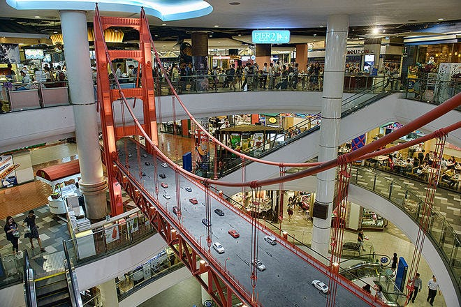 Bangkok Malls And Shopping Centers 10best Mall Reviews
