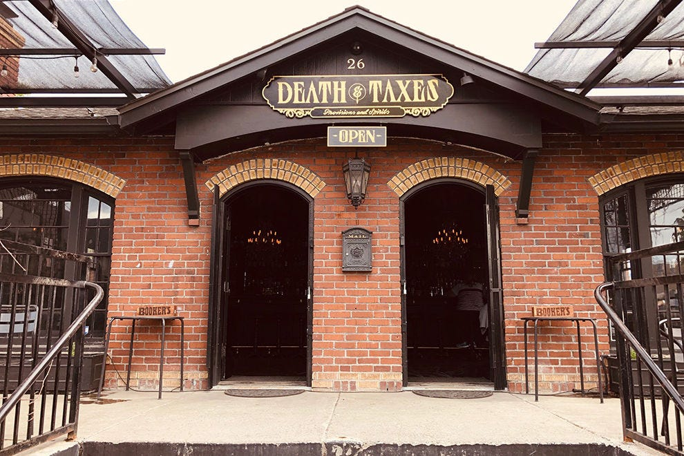 Death & Taxes Provisions and Spirits