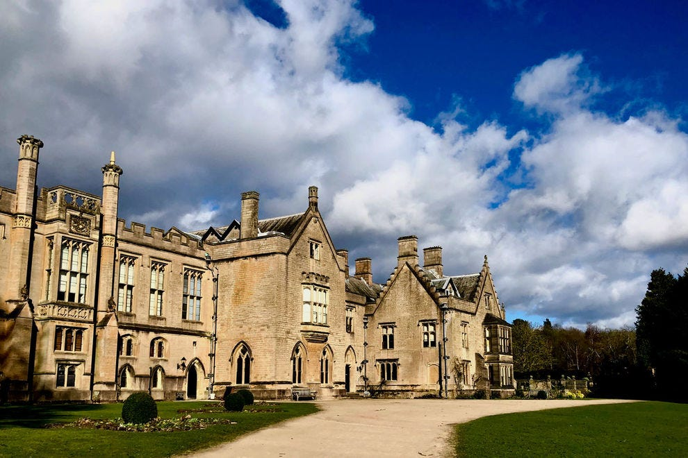 Newstead Abbey was a grant to the Byron family from Henry VIII in 1540