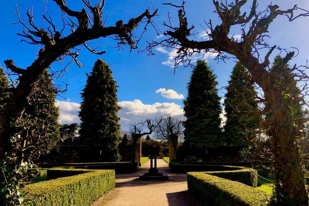 Leave time on your Nottinghamshire tour for meandering through the gardens of Newstead Abbey.