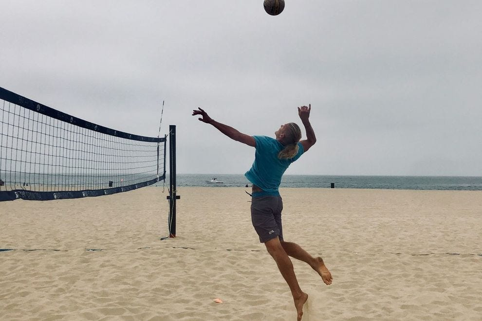 Mark Burik of VolleyCamp Hermosa