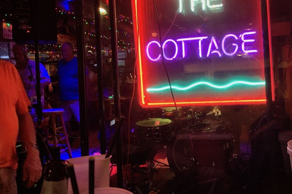The Cottage Beach Bar and Grill