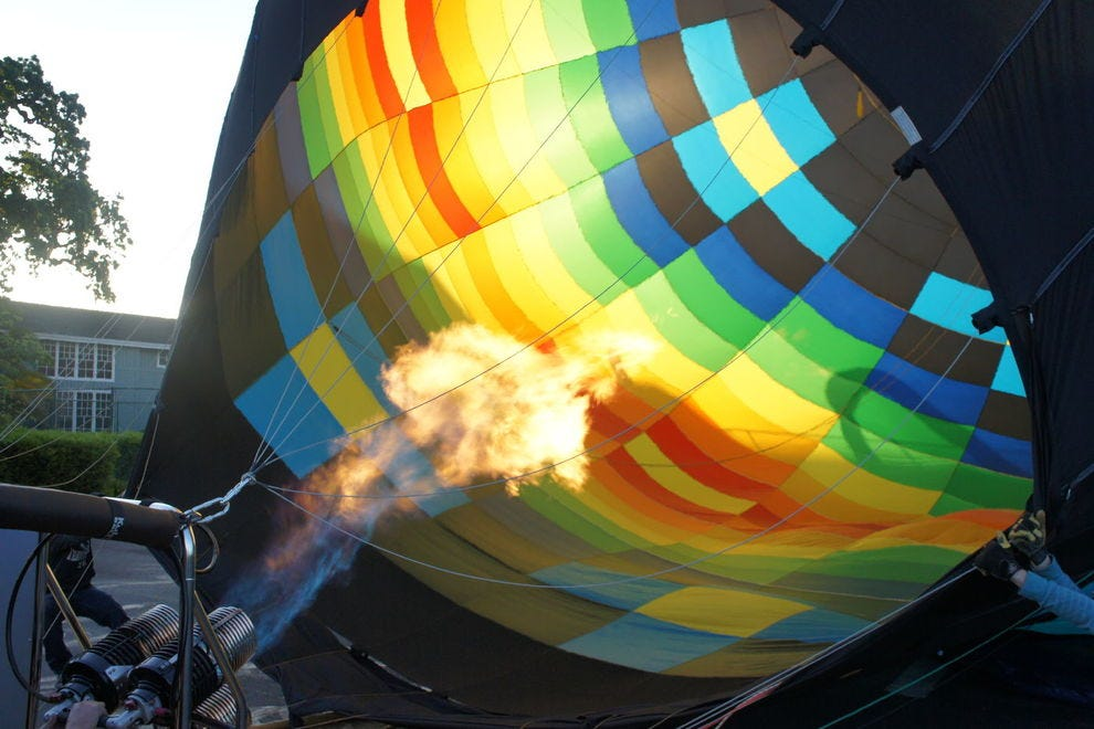 Winning balloon company has been flying the skies of Napa since 1978
