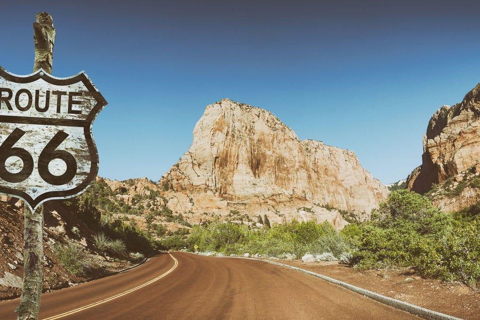 Route 66 in Utah