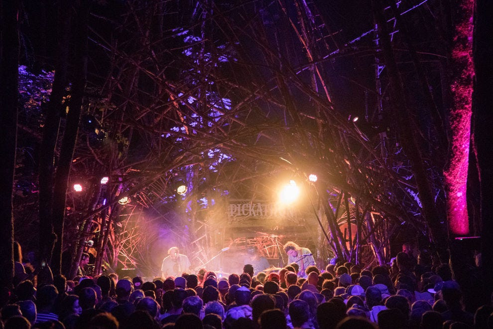Beautiful music echoes throughout the woods of Happy Valley every August during the spectacular Pickathon music festival