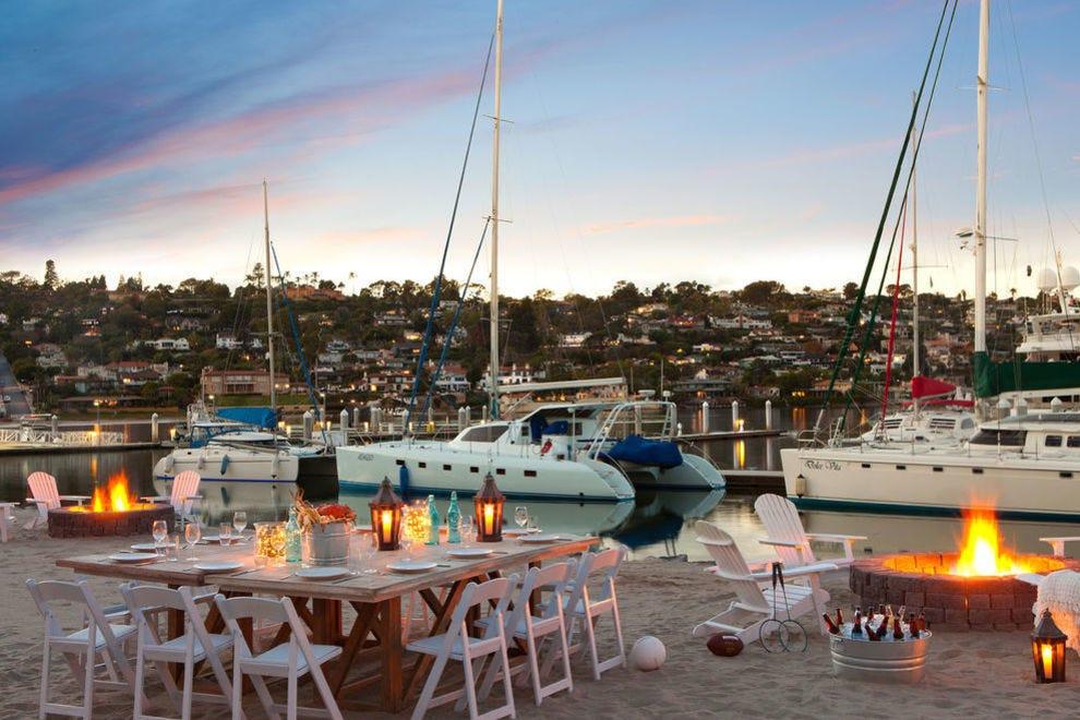 Enjoy a tropical island retreat in the heart of San Diego
