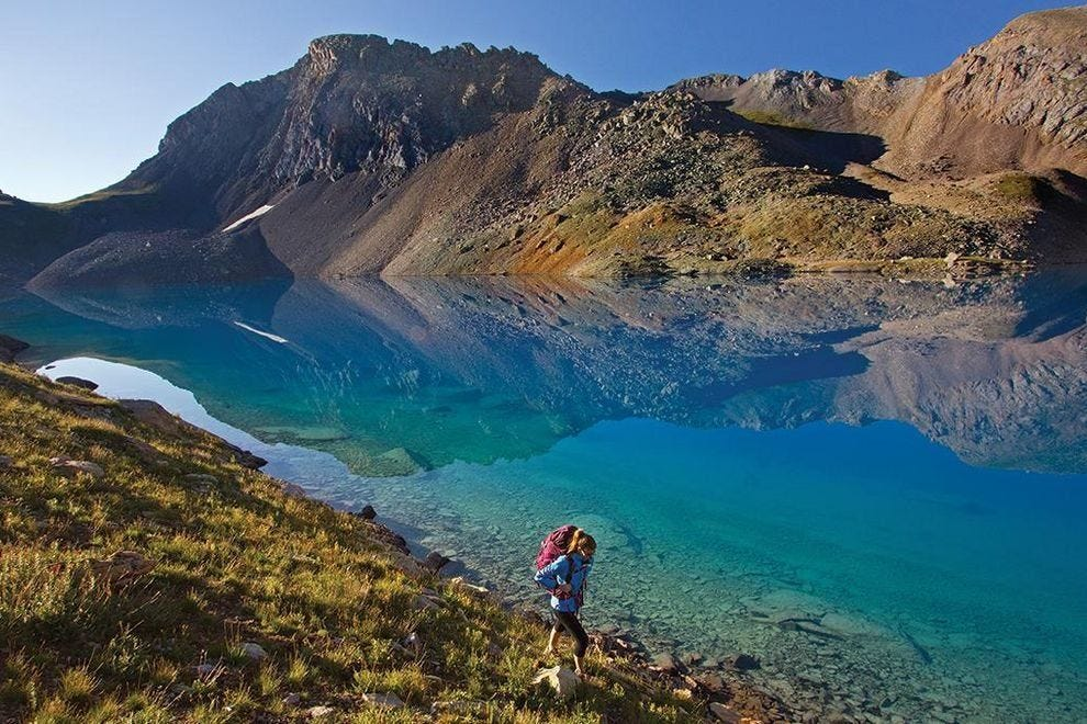 Hiking around Telluride will immerse travelers in some of Colorado's most pristine nature