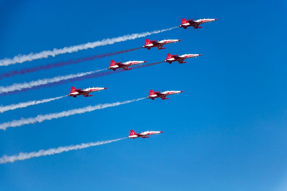 You don't have to be an aviation enthusiast to enjoy the action of an air show