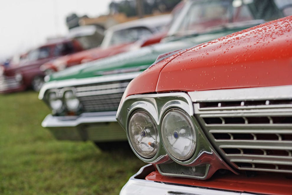Our nominees for Best Car Show celebrate modern marvels and vintage cars alike