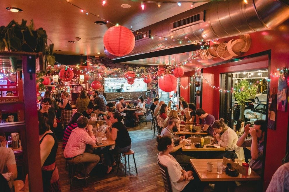 Bing Bing Dim Sum on East Passyunk Avenue blends Asian flavors and cooking techniques with Jewish deli classics